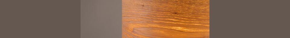 Mise en avant matière Lampe de table Woodland