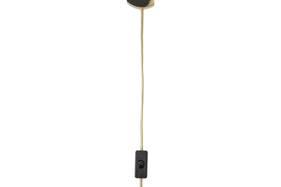 Une lampe toute simple mais pleine de style