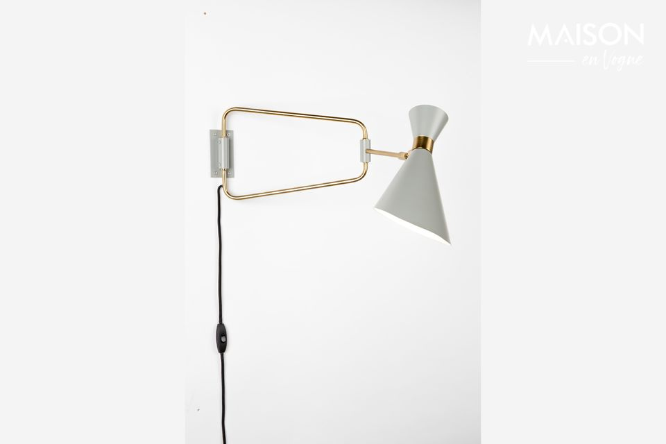 Lampe Murale Shady Grey Zuiver