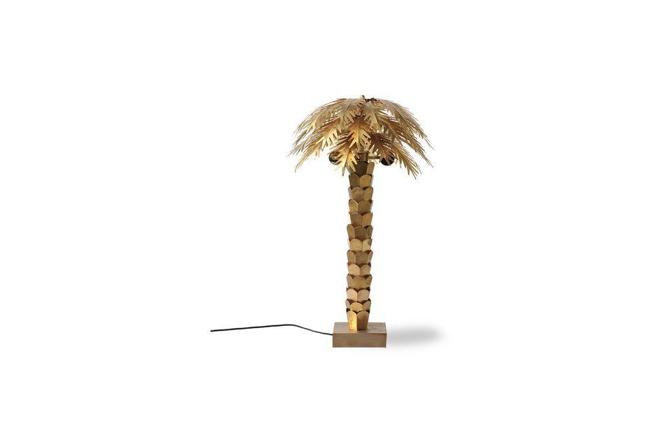 Lampe Palm en laiton HK Living