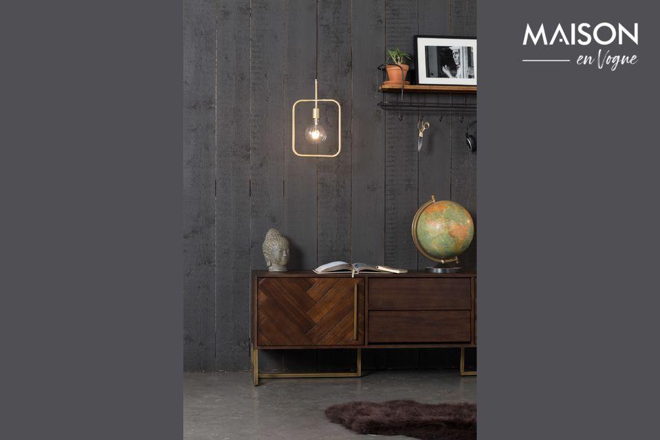 Dutchbone présente un modèle de lampe au design vintage