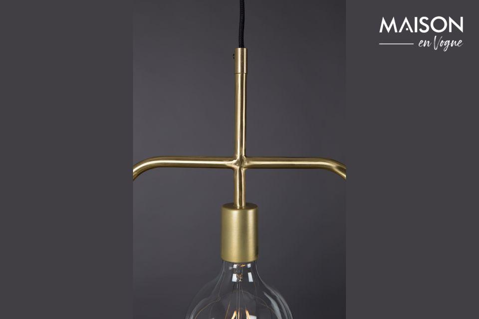 Cette création est compatible avec une ampoule à LED de la couleur de votre choix