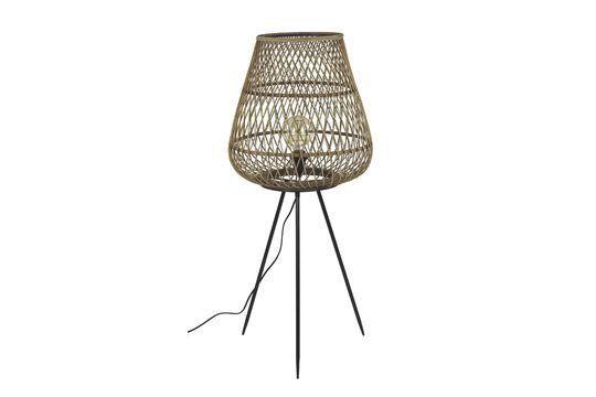 Lampe tressée en bambou Tao