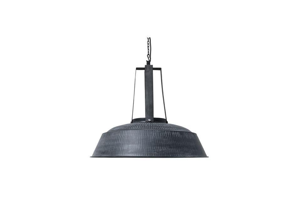 Lampe Workshop XL rustique noire mate HK Living