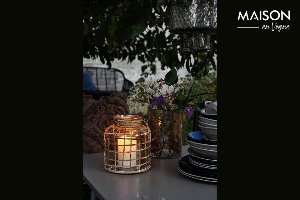 Lanterne Bambou Nordal