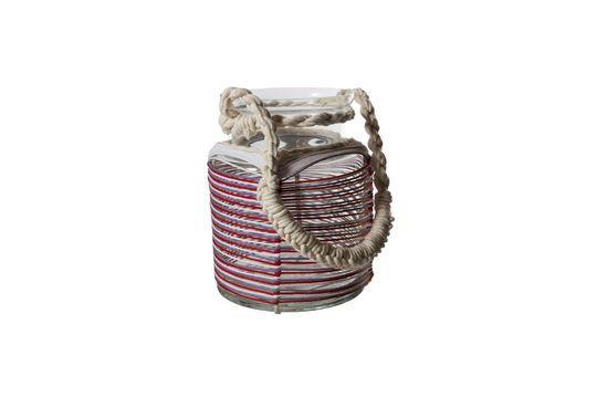 Lanterne Thieux à fils de coton colorés Détouré