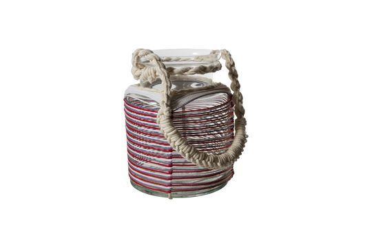 Lanterne Thieux à fils de coton colorés