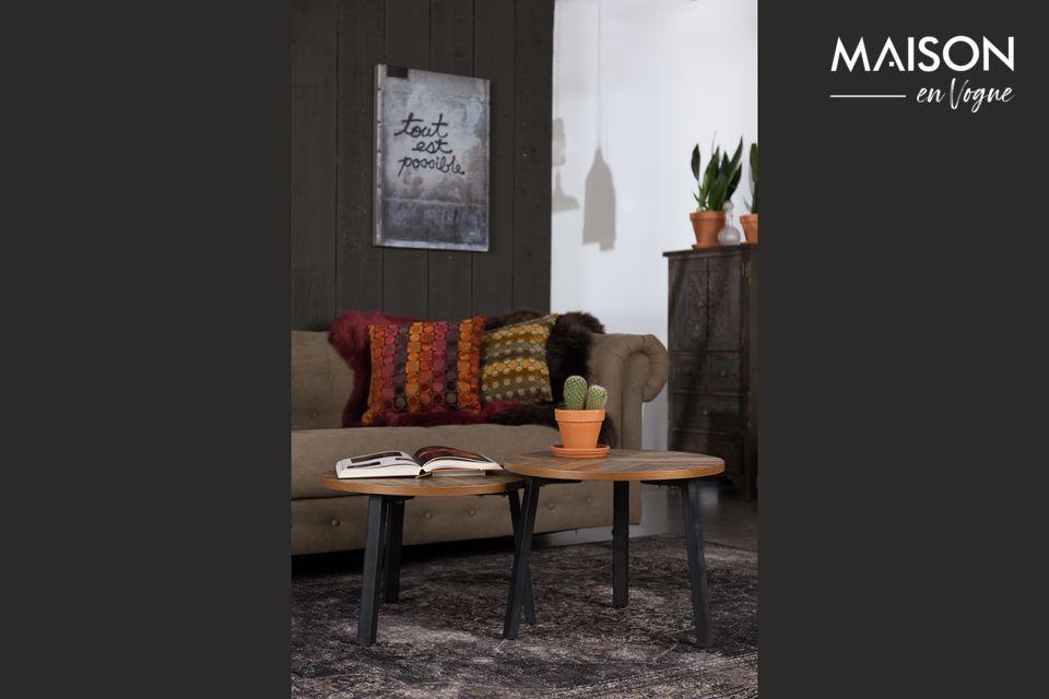 Lot de 2 tables basses Mundu Dutch Bone