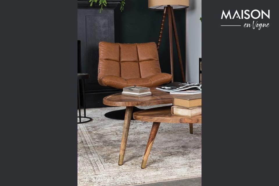 Des tables basses en bois pour un style rustique