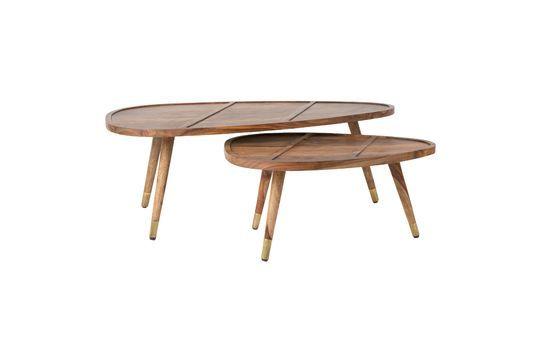 Lot de 2 tables basses Sham Détouré