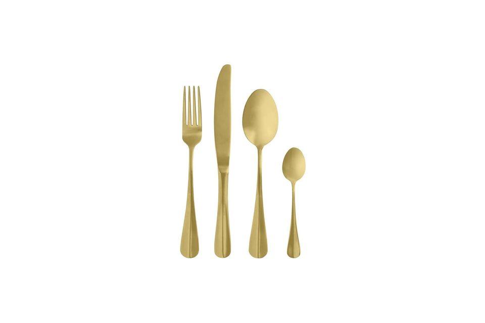 Ménagère Gold Nordal
