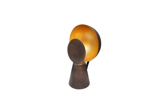 Mini lampe Hide & Seek noir et or