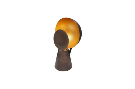 Mini lampe Hide & Seek noir et or