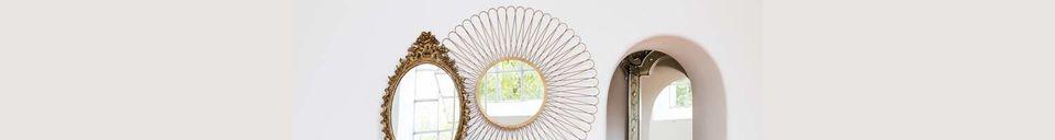 Mise en avant matière Miroir convexe Charpey