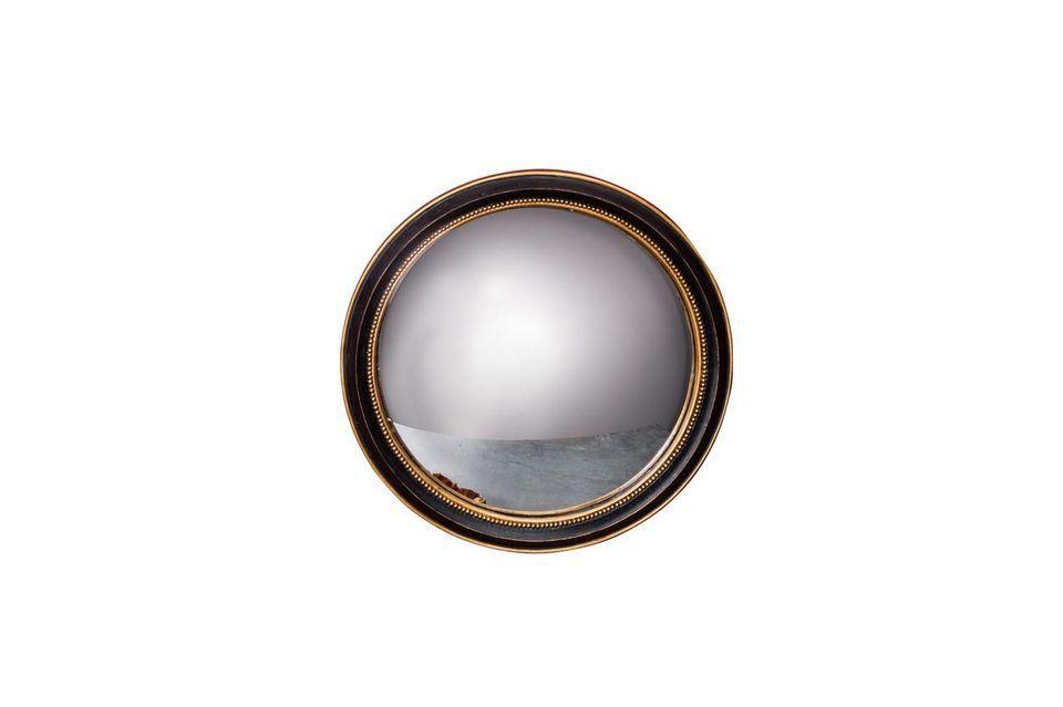Le miroir convexe Mirabeau de Chehoma vous propose d\'opter pour la sobriété avec son miroir en