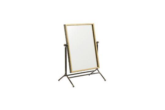 Miroir de table en fer Détouré