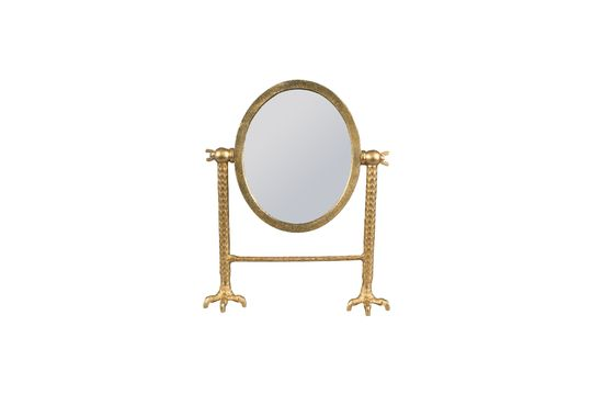 Miroir Falcon en laiton Détouré