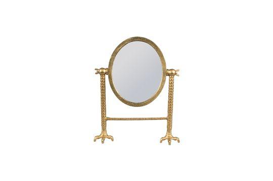 Miroir Falcon en laiton