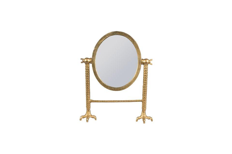 Miroir Falcon en laiton - 5