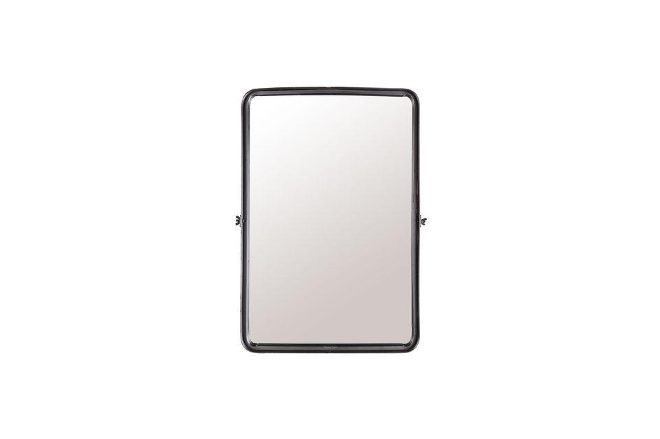 Nous avons choisi le miroir légèrement encastré pour lui donner un design plus intéressant