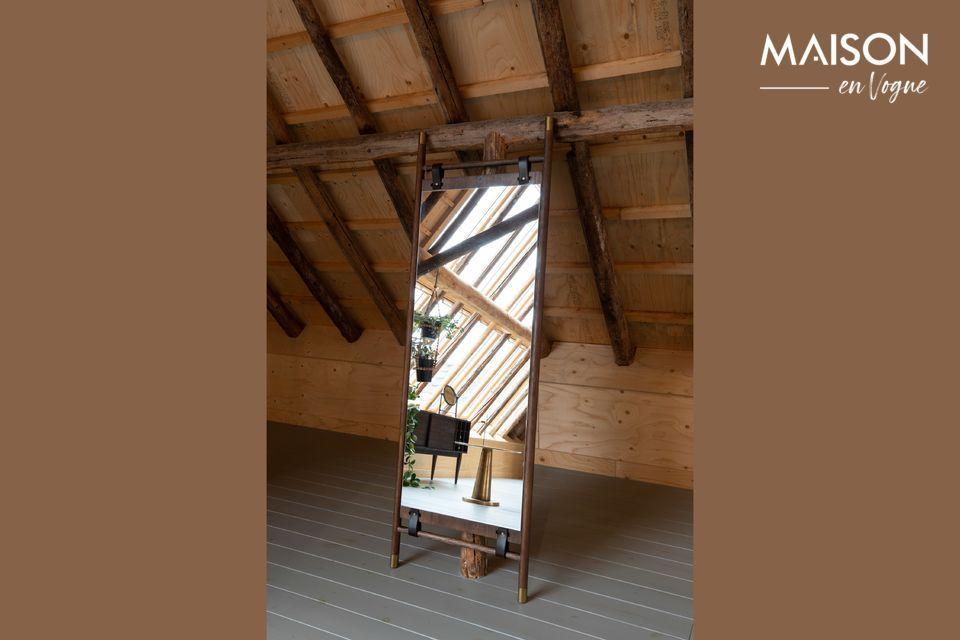 Miroir Riva sur pieds Dutch Bone