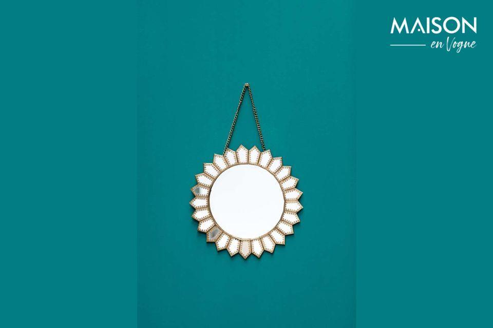 Un miroir solaire très décoratif