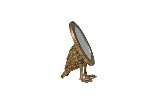 Miroir Sorbiers ovale avec pieds palmés