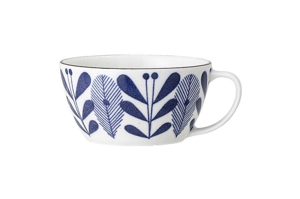 Mug Camellia en porcelaine Bloomingville