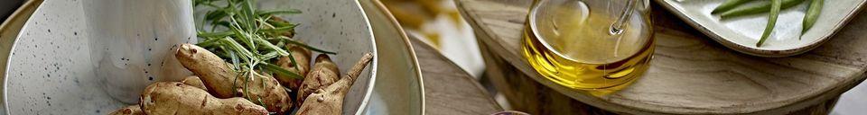 Mise en avant matière Mug Heather multicolore en grès