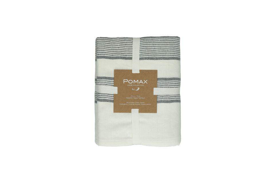 La marque Pomax présente la nappe Tizia au format carré de 170 cm de côté
