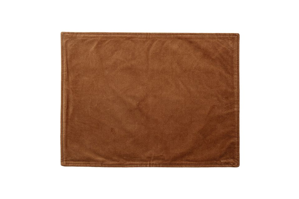 Napperon Marsas en coton orange Bloomingville