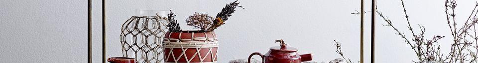 Mise en avant matière Napperon Simard en jacinthe