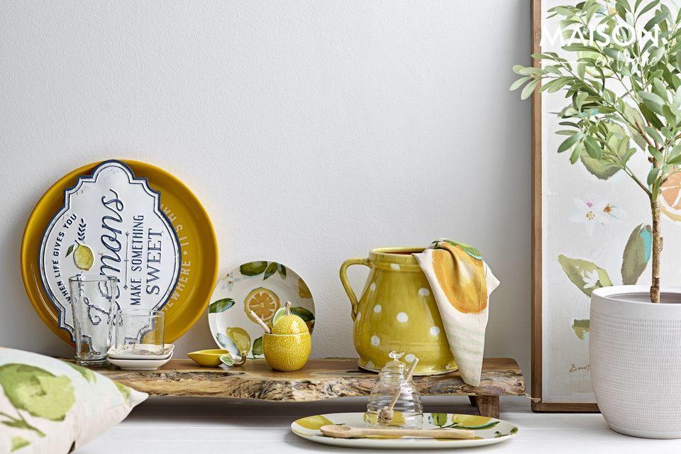 Pot avec joli petit olivier en plastique