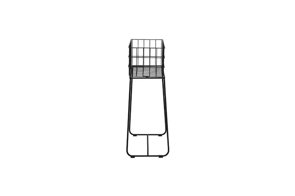 Le panier de rangement Cerf capte votre attention par sa hauteur et mettra en lumière son contenu