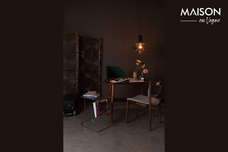 Vous avez besoin de créer deux espaces séparés dans une pièce sans perdre en luminosité ? Ce