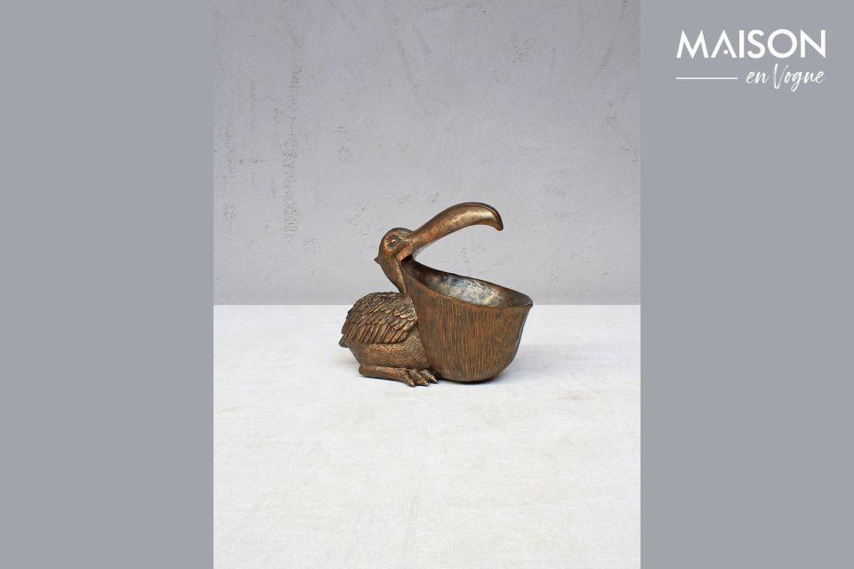 Pelican bouche ouverte Chehoma