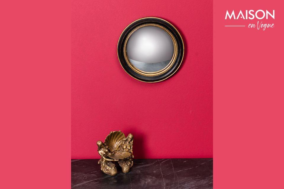 Petit miroir convexe Brassy Chehoma