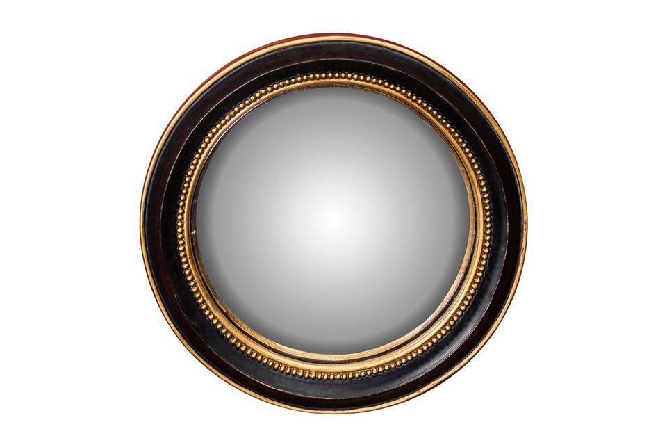 Le miroir convexe Mirabeau de Chehoma vous propose d\'opter pour la sobriété et l\'élégance avec