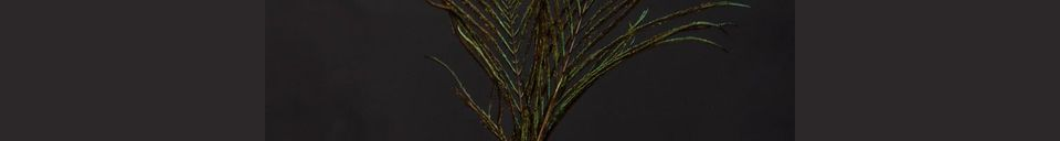 Mise en avant matière Petit vase en céramique vert Houlle