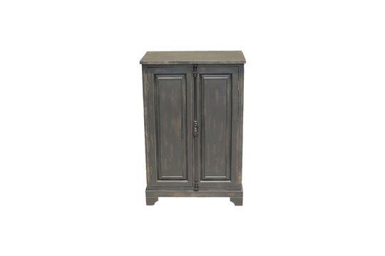 Petite armoire Pretoria noire en bois