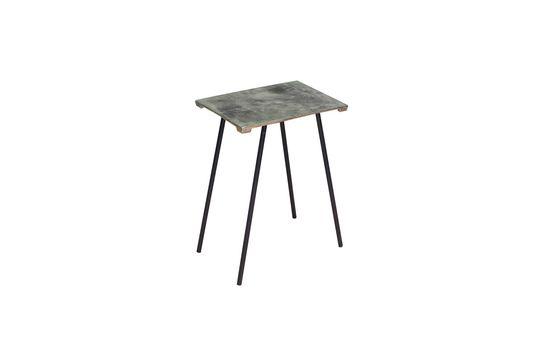 Petite table d'appoint en alu Aleyrac Détouré
