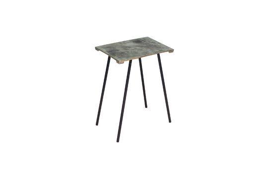 Petite table d'appoint en alu Aleyrac