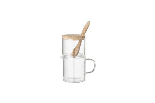 Pichet à lait et sucrier Glanes Détouré
