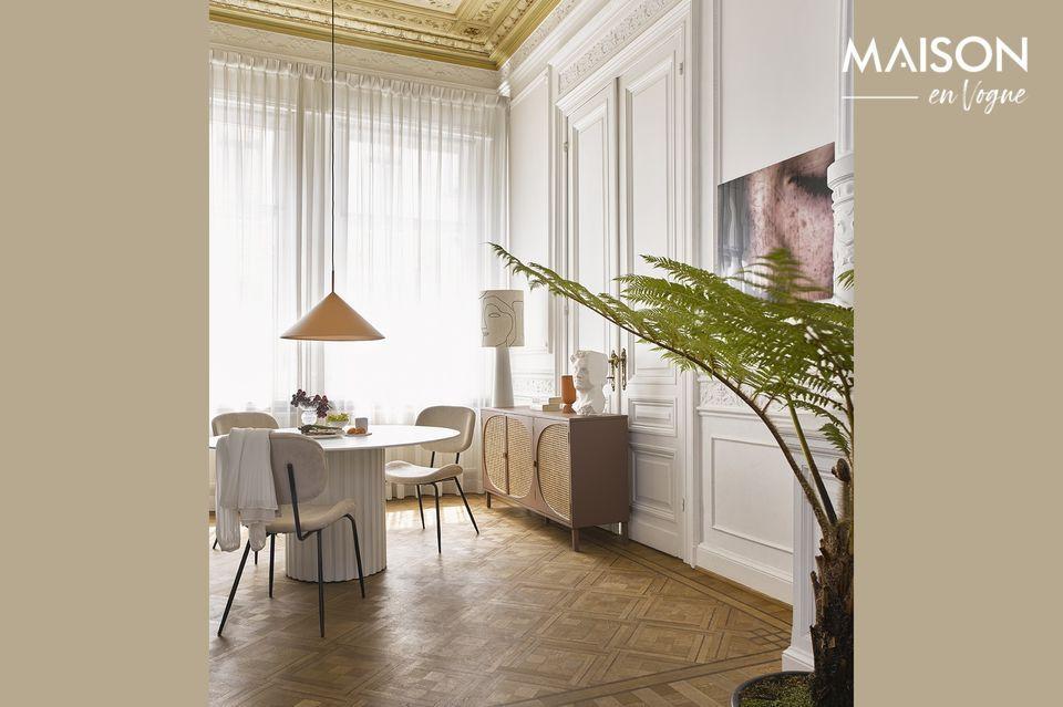 Une base de lampe design et moderne