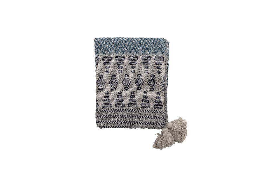 Mixant coton et polyester, ce couvre-lit s\'adapte à tous les styles grâce à son look universel