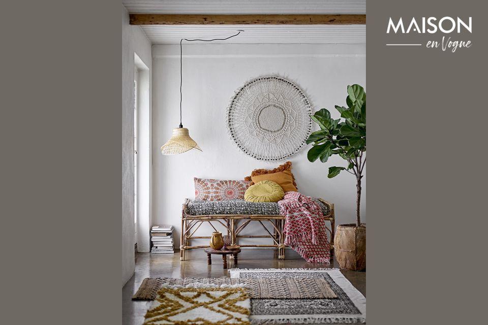 Protégez et embellissez votre canapé ou votre lit grâce à cet élégant plaid Noilhan