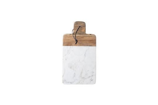 Planche à découper Cairanne blanche en marbre