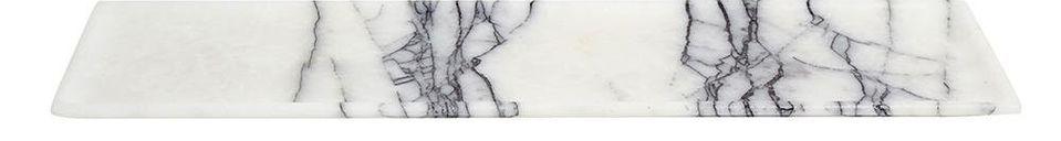 Mise en avant matière Plat Marbi en marbre