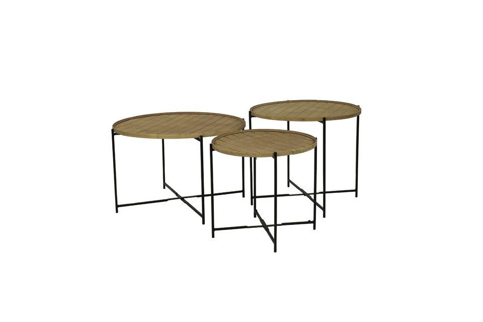 Il peut s\'adapter à une structure métallique afin de se transformer en dessus de table amovible