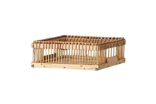 Porte-serviette Ecuvilly en bambou